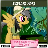 Pony Resolutions 2014 Daring Do