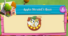 Apple Strudel's Haus residents
