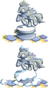 Wonderbolts Statue
