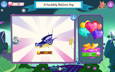 Friendship Balloon Pop
