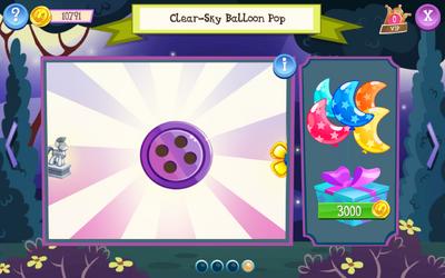 Clear-Sky Balloon Pop