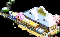 Train Station Winter