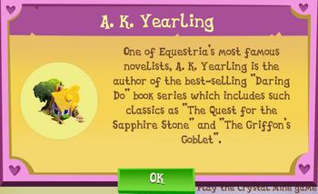 A.K. Yearling Description