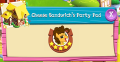 Cheese Sandwich's Party Pad residents