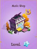 Music Shop Store Locked