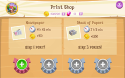 Print Shop Products