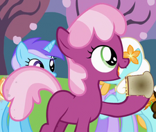 Cheerilee as a filly ID S4E12