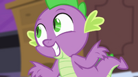 """Spike """"about to call it a night"""" S4E01"""