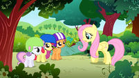 Fluttershy 'Why are you in such a hurry anyway' S1E23