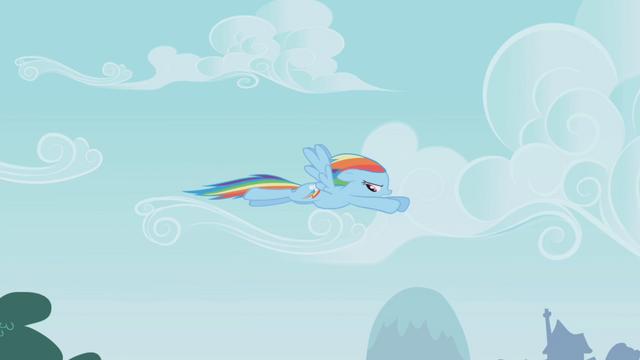 File:Rainbow Dash flying away S1E05.png