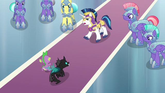 "File:Shining Armor ""get away from that thing!"" S6E16.png"