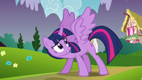 Twilight stops herself S4E26