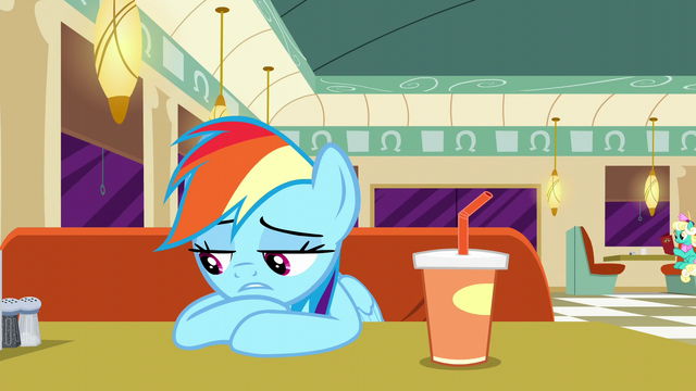 "File:Rainbow Dash ""they were all pretty slow"" S6E9.png"