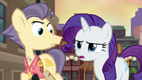 "Rarity ""never seen her like this"" S6E3"