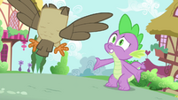 """Spike """"it's the perfect plan!"""" S4E23"""