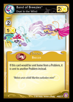 Band of Breezies, Dust in the Wind card MLP CCG