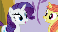 "Rarity ""the gown shall be yours"" S5E14"
