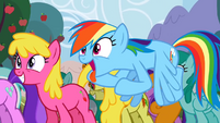 Rainbow Dash and her cider addiction S2E15