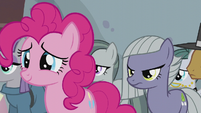 Pie family listening to Applejack S5E20