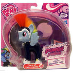 Power Ponies Rainbow Dash doll packaging