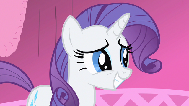 File:Rarity still smiling S1E20.png