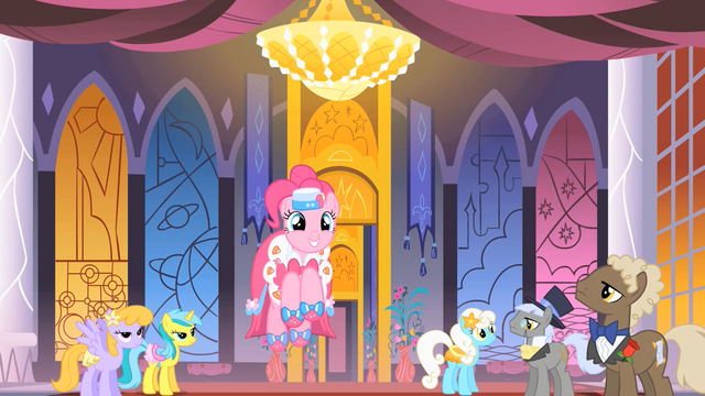 File:Pinkie Pie dancing at the Gala S01E26.png