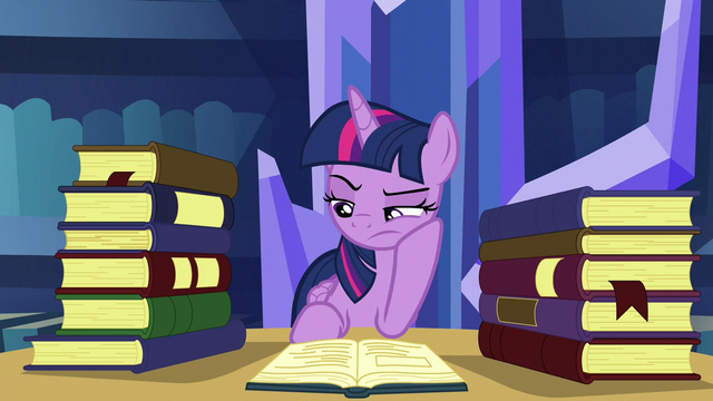 File:Twilight reading a book while annoyed S5E16.png