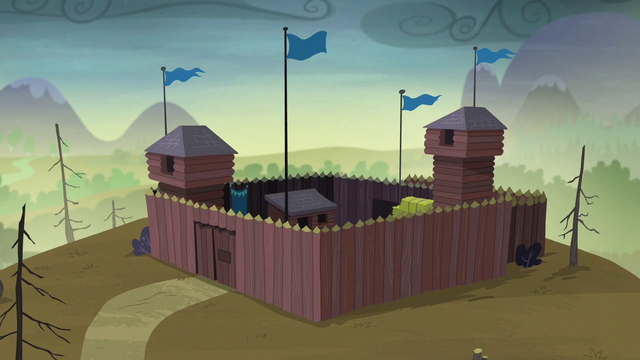 File:Wide view of McColts' fortress S5E23.png