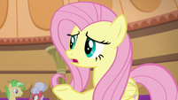 "Fluttershy ""do you think he knows?"" S6E20"
