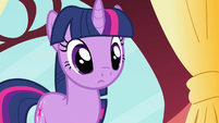 Twilight wide eyed attention S3E9