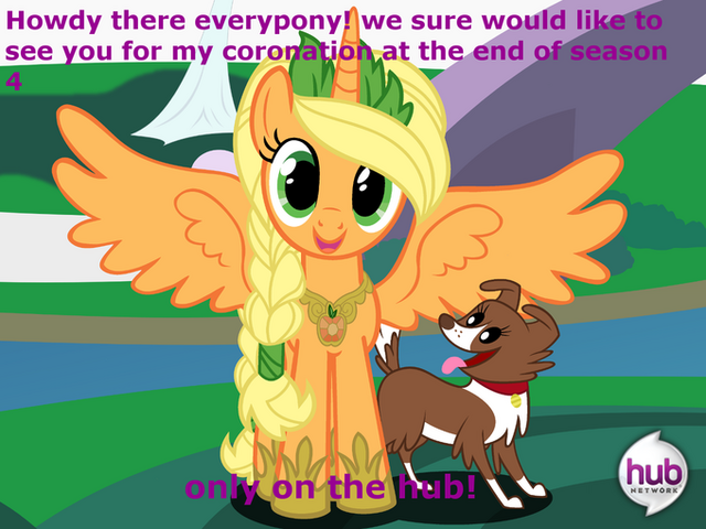 File:FANMADE Alicorn Applejack with Winona.png