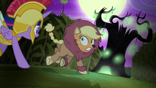File:Applejack runs toward a spooky tree S5E21.png