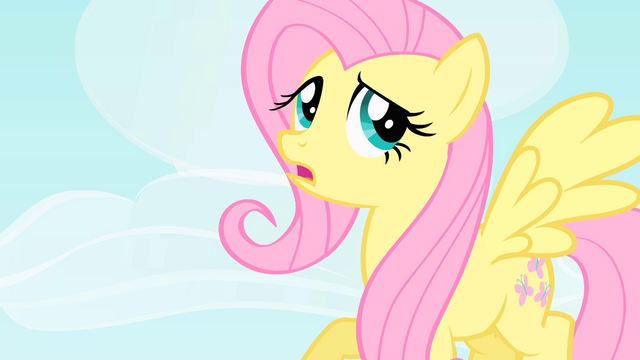 File:Fluttershy thinking of an excuse S1E25.png