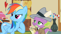 Rainbow Dash who me S2E8
