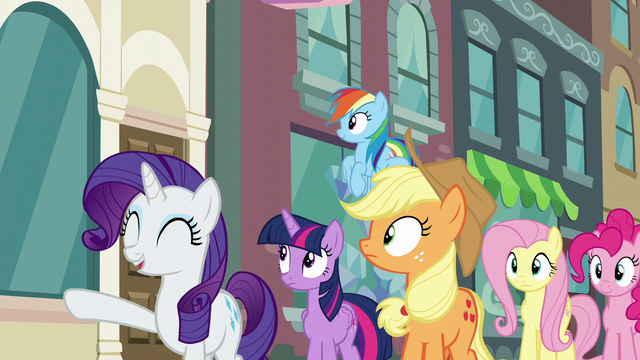 "File:Rarity ""Here it is!"" S6E9.png"
