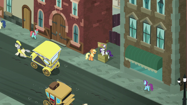 File:Overhead shot of Applejack and Rarity in Manehattan S5E16.png