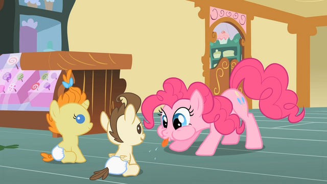 File:Pinkie Pie blows a raspberry S2E13.png