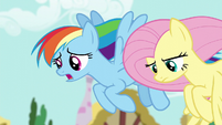 "Rainbow Dash ""I know you weren't expecting"" S6E11"