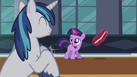 Twilight is happy about succeeding S02E25