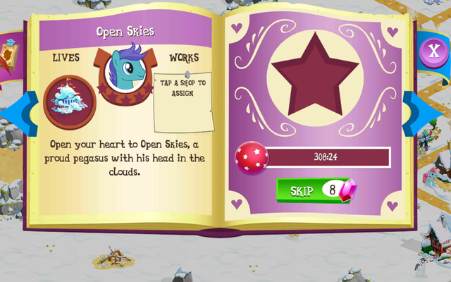 File:Open Skies album page MLP mobile game.png