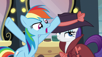 """Rainbow """"What evidence could you possibly have"""" S5E15"""