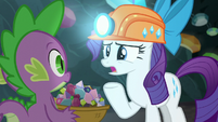 "Rarity ""The last time I was here"" S6E5"