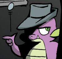 Comic issue 19 Alternate Spike