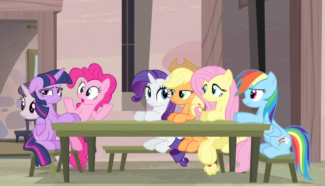 "File:Pinkie Pie ""what? I'm hungry!"" S5E1.png"