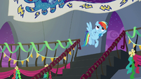 "Rainbow ""from all the excitement"" S6E7"