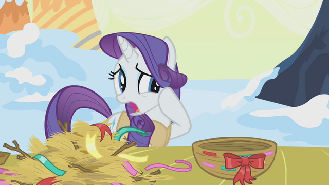 File:Rarity alarmed by Twilight's nest-making S1E11.png