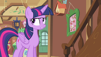 Twilight rolls her eyes S4E11