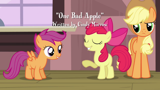 File:Apple Bloom 'Of course she'll wanna join the Cutie Mark Crusaders' S3E4.png