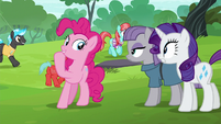 "Pinkie Pie ""there are swan boats"" S6E3"