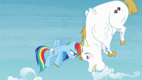 Rainbow looking at Bulk S4E10